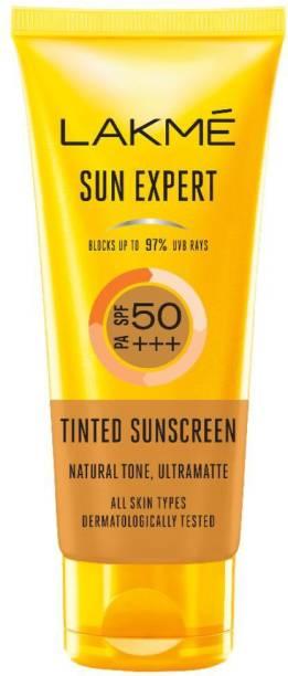 Lakmé Sun Expert Tinted Sunscreen 50 SPF - SPF SPF 50 PA+++
