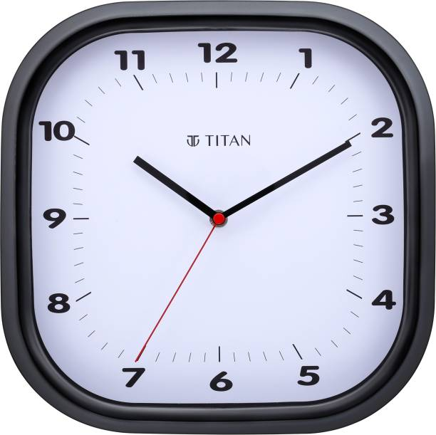 Titan Analog 28 cm X 28 cm Wall Clock