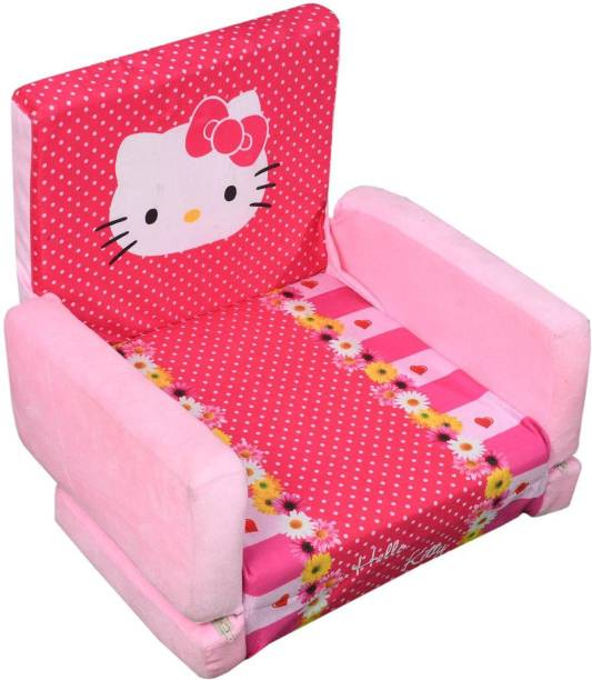 SINGHS VILLAS DECOR Presents kitty Sofa Cum Bed/Sofabed Shape Imported Premium Quality Soft Toy Chair/seat for Baby Sitting/Soft Toy Chair for Kids with Attractive Color Sofa Cum Bed Sofa Cum Bed