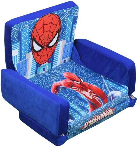 SINGHS VILLAS DECOR Presents spiderman Sofa Cum Bed/Sofabed Shape Imported Premium Quality Soft Toy Chair/seat for Baby Sitting/Soft Toy Chair for Kids with Attractive Color Sofa Cum Bed Sofa Cum Bed