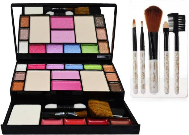 angelie Professional Makeup 6171 with 5 Pcs Brush
