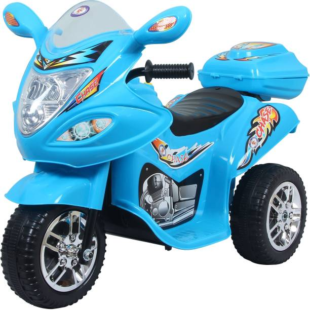 HLX-NMC ATTERY OPERATED FUN Ride On (Blue) Bike Battery Operated Ride On