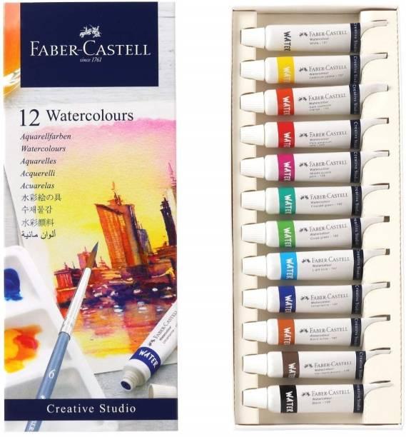 FABER-CASTELL 169512 Creative Studio Watercolors 5ML Set Of 12