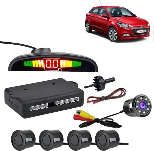 aksmit PSWCLEDBLK7499 Car Safety System Black Color Parking Sensor With LED Camera For Elite i20_CCLED7464 Parking Sensor