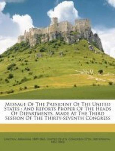 Message of the President of the United States
