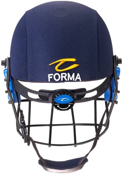 Forma Elite Pro Plus Helmet with Mild Steel Grill Navy Blue Cricket Helmet