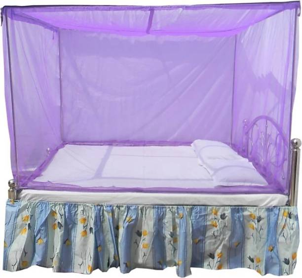 jim-Dandy Polyester Adults Premium soft Mosquito net double bed (6*6) Mosquito Net