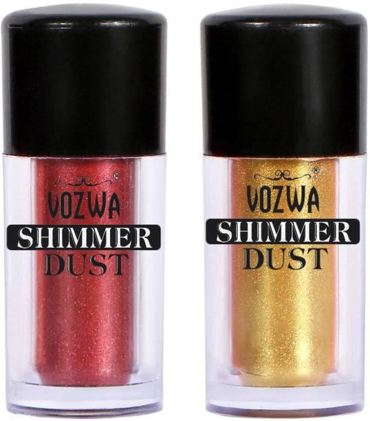 VOZWA Eyeshaodw Shimmer Dust 4g- Marron + Golden