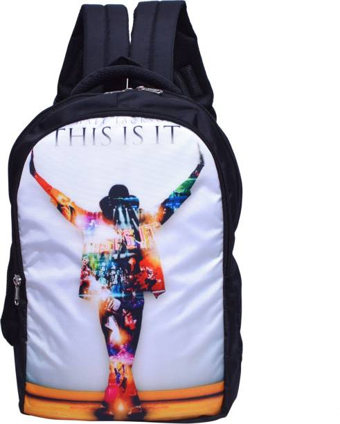MY FAV Digital Print College Bag School Bag 20 L Laptop Backpack