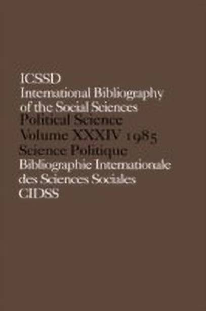 IBSS: Political Science: 1985 Volume 34