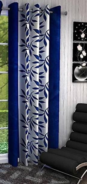Spangle Homes 152 cm (5 ft) Polyester Window Curtain Single Curtain