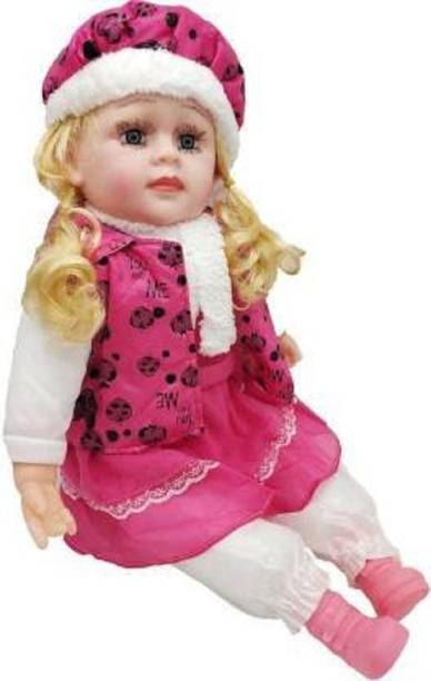 Kmc kidoz Beautiful Poem singing baby doll Toy for Kids(Multicolor)