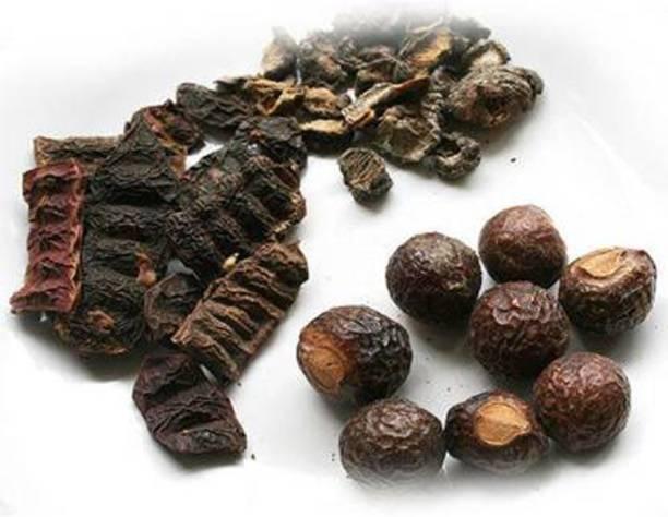 NATURAL GREEN Reetha, Amla, Shikakai (Raw Herb) Natural Form Combo Pack (600 Grams)