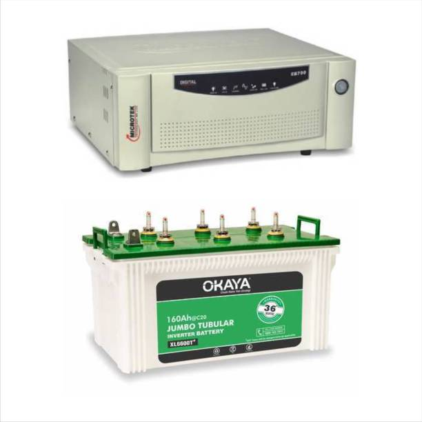 Okaya EB700+XL6600T Tubular Inverter Battery