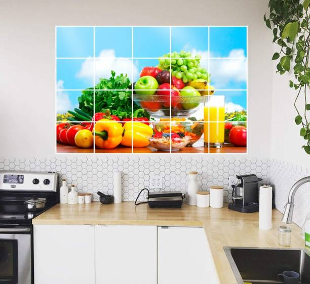 Fruits Sticker Poster 3D Poster