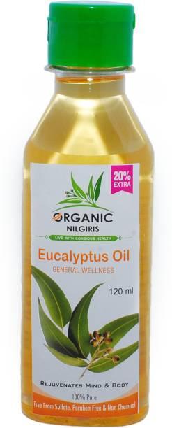 organic nilgiris eucalyptus oil 100% original organic 100ml+20ml