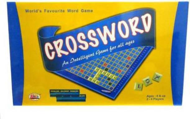 Ekta Toys crossword mind game Word Games Board Game