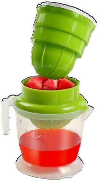 the dharti putra Plastic Hand Juicer Plastic Hand Juicer for Fruit And Vegetable with Waste Collector