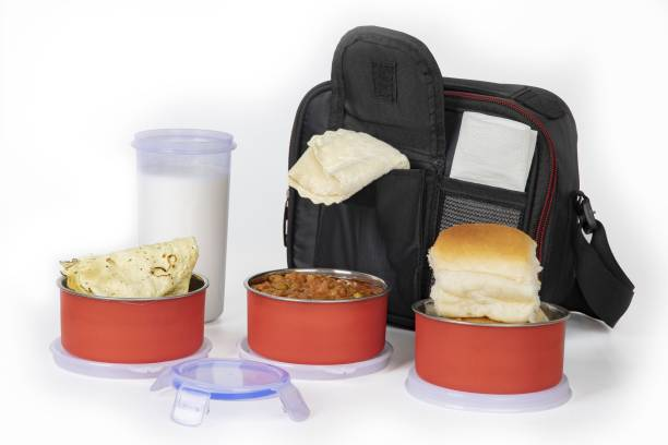 Serenity Executive Lunch Insulated Tiffin Best Steel Lunch Box Stainless Steel 3 Container with Plastic Bottle Lunch Box Leakproof Containers Tiffin Set with Bag for Office lunch boxes for office stainless steel lunch boxes for office microwave safe lunch box For Adults And Kids (Red) 3 Containers Lunch Box