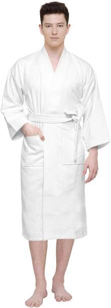 Cloth Fusion White XXL Bath Robe