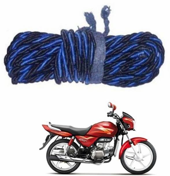 Vizzard Black & Blue Leg_guard Bike Crash Guard Rope Yamaha, Royal Universal For Bike