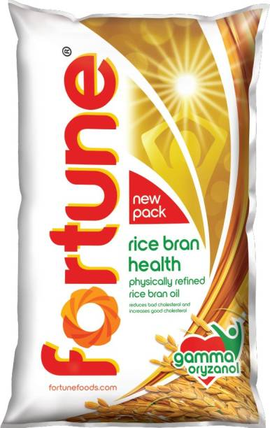 Fortune Rice Bran Oil Pouch