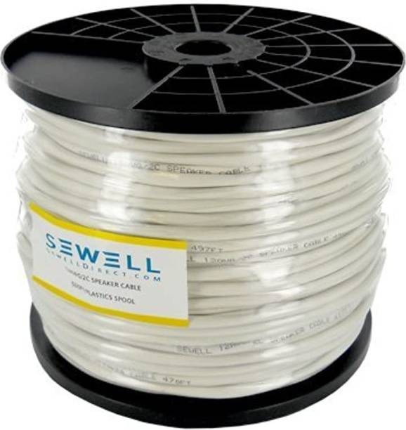 Sewell Direct NA White 500 ft. Wire