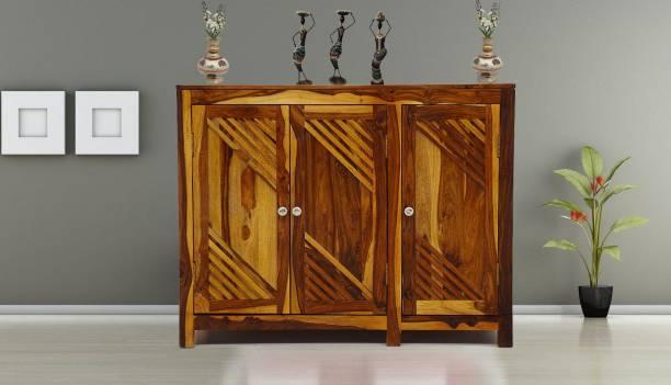 TimberTaste JOHNY-SB-NT Solid Wood Kitchen Cabinet