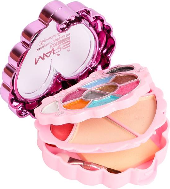 MARS 10 Eyeshadow, 2 Blusher, 2 Compact Powder,4 Lip color makeup kit