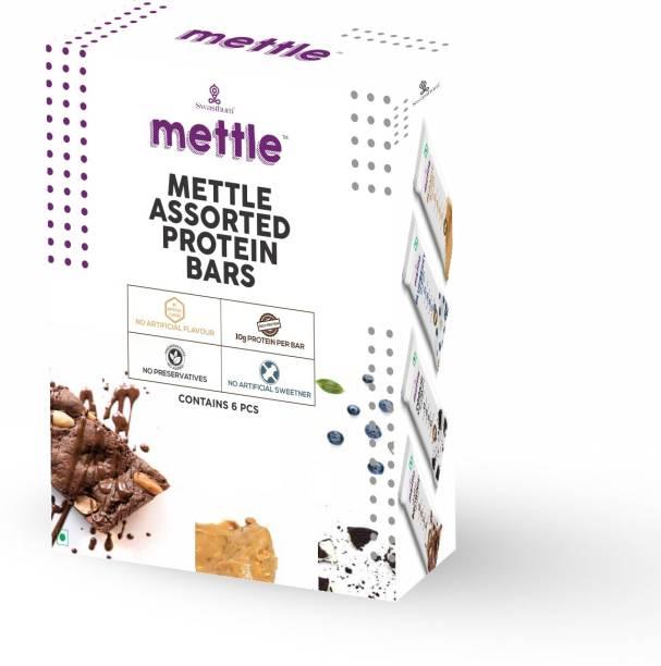 mettle Assorted Protein bar 6 Bars (30g Each) Energy Bars