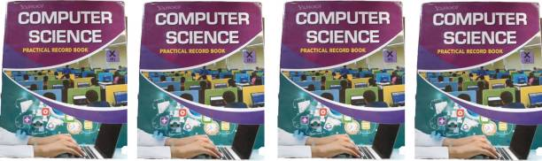 Computer Science Practical Record Book Class X Pack Of 4