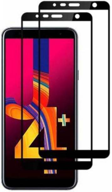 CLASIKCART Edge To Edge Tempered Glass for Samsung Galaxy J4 Plus
