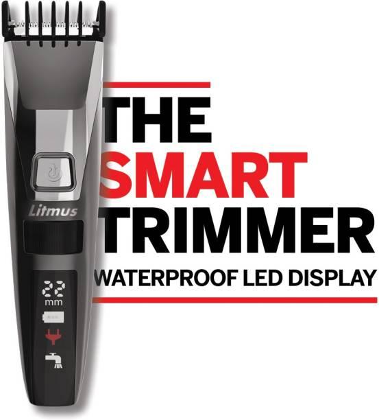 Litmus STUBBLE PRO DT1100 (WATERPROOF)  Runtime: 60 min Trimmer for Men