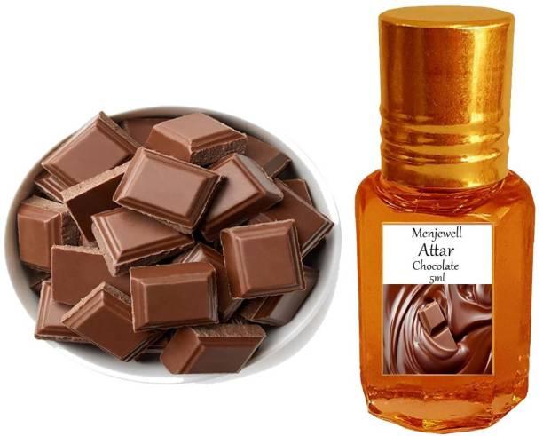 Menjewell fragrances Chocolate Musk (Natural Itra/Attar/ Perfume) Floral Attar