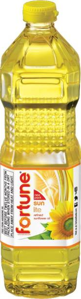 Fortune Sunlite Refined Sunflower Oil Plastic Bottle