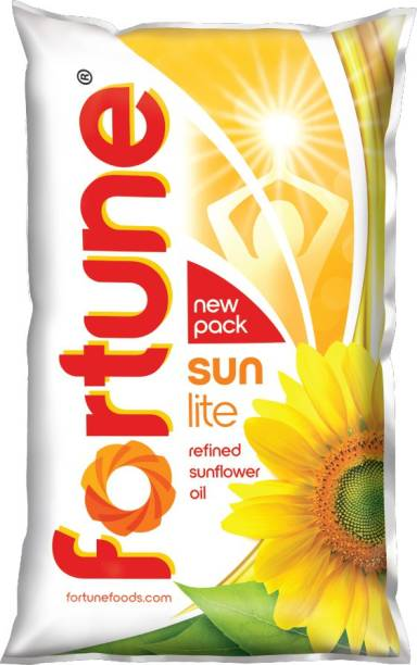 Fortune Sunlite Refined Sunflower Oil Pouch