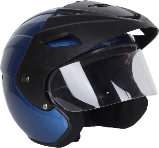 TRYFLY OPEN FACE UNISEX ISI APPROVED Motorbike Helmet