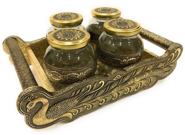 navrang Tray, Container Serving Set