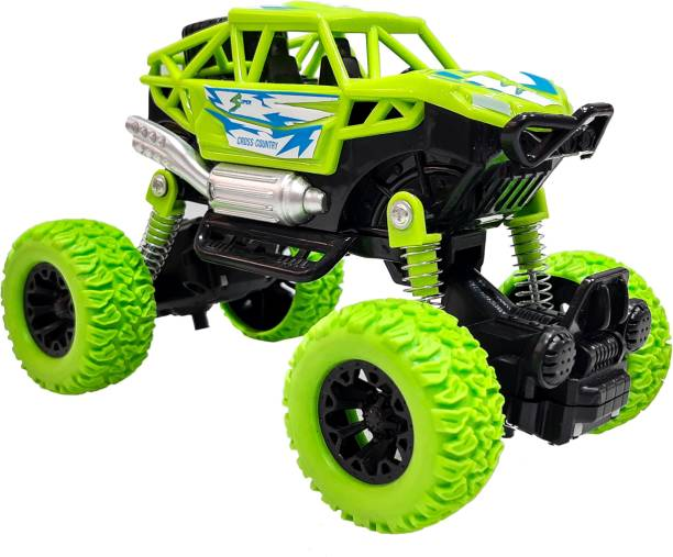 Toy Shack Toyshack Pull Back Rock Crawler Off Road Truck Die Cast Vehicle with Rubber Wheels for Kids