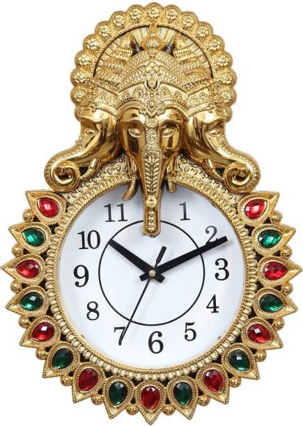Flipkart SmartBuy Analog 34 cm X 24 cm Wall Clock