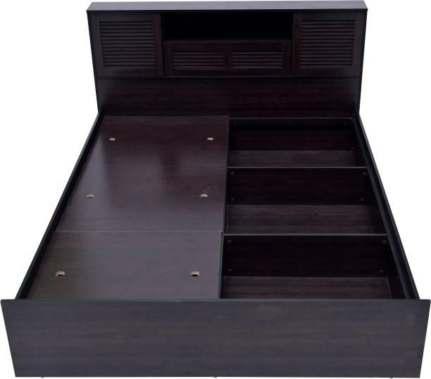 DeckUp Noordin Engineered Wood Queen Box Bed