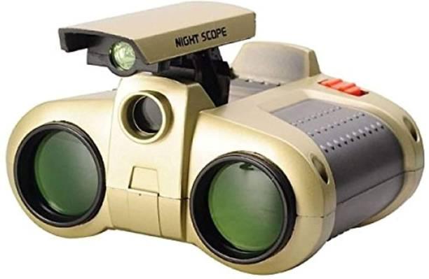 AliveEmmanual Night Scope Toy Binocular with Pop-Up Light or Kids Durbin Binoculars