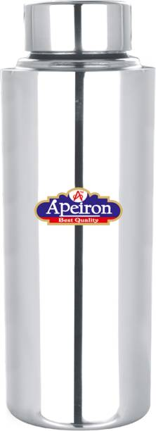 Apeiron Stainless Steel Fridge Water Bottle with Leak Proof Cap 600 ml Bottle