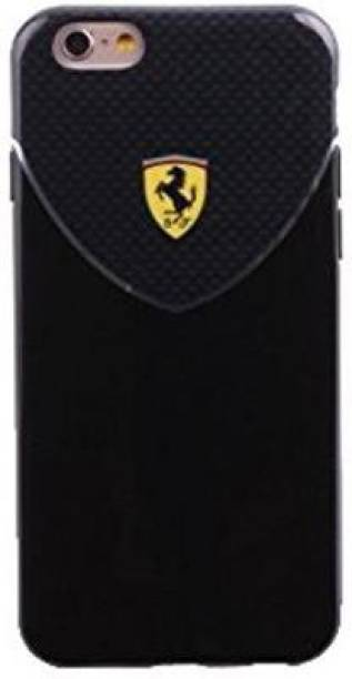 "Ferrari Back Cover for CG Mobile Ferrari Racing TPU Case for iPhone 6/6S - 4.7"" - Black"
