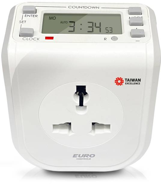 EURO EST16C Programmable Electronic Timer Switch