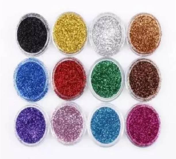 Wingage Eye Shadow Shimmer Glitter Powder (12 Color) 48 g