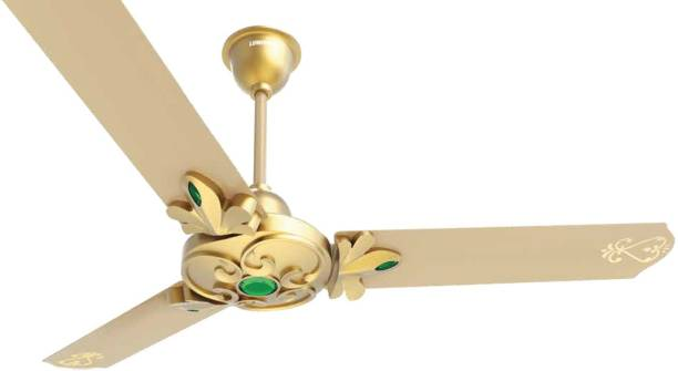 LUMINOUS 1200MM LONDON WINDSOR C/F GALLON GOLD 1200 mm 3 Blade Ceiling Fan