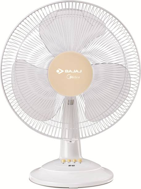 BAJAJ MIDIEA BT-07 400MM 400 mm 3 Blade Table Fan