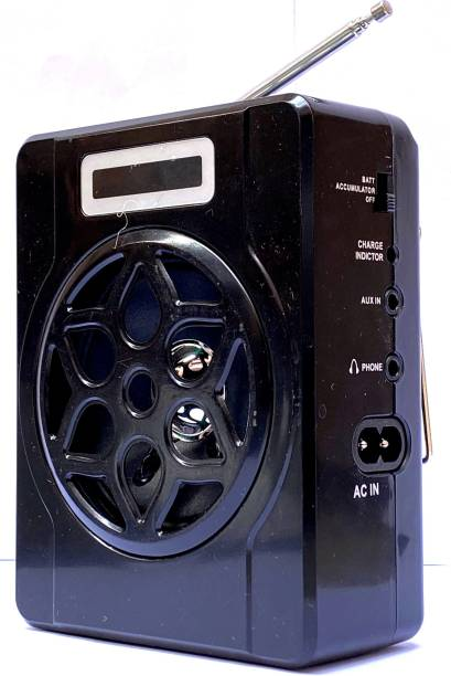 CRETO RM-DS115Fm Portable Speaker USB/SD/Mp3 Player with 3.5mm Headphone Jack FM Radio