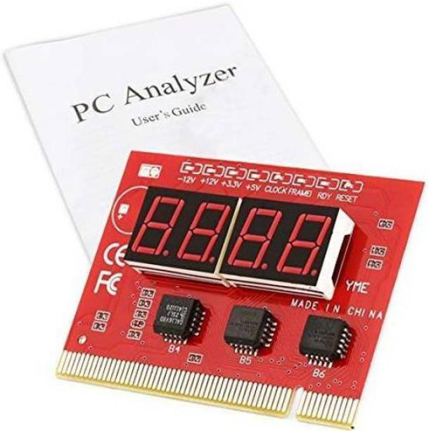 7Q7 4-Digit PC Motherboard Diagnostic Card with User Manual Motherboard